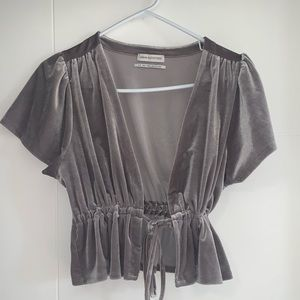 Velvet Urban outfitters crop top size small